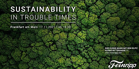 Sustainability in trouble times | Feinripp Live Sessions tickets