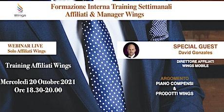 Training Special Day Wings Mobile Italia biglietti