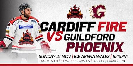 Cardiff Fire vs Guildford Phoenix tickets