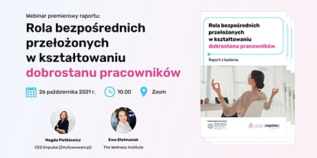 Webinar premierowy raportu tickets