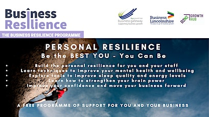 Introduction to Personal and Staff Resilience tickets