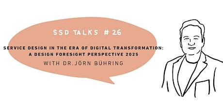 SSD Talks #26 biljetter