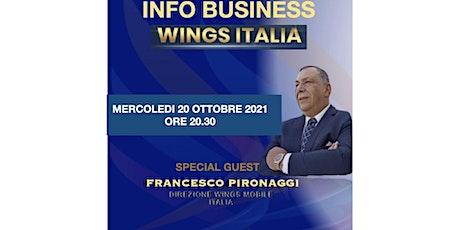 Wings Mobile Italia biglietti