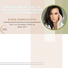 Personal Brand--How to find your true self through it and start managing it tickets