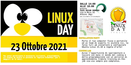 LinuxDay '21 biglietti