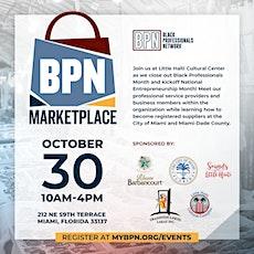 BPN Marketplace at Little Haiti Cultural Center tickets