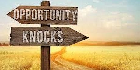 """Opportunity Knocks"" tickets"