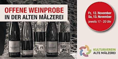 Offene Weinprobe in der Alten Mälzerei Tickets