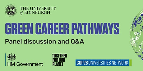 Green Career Pathways. Panel discussion and Q&A tickets