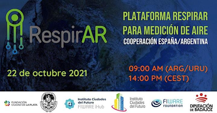 Imagen de Plataforma RespirAr para medición de aire. Cooperación España/Argentina