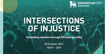 BCU Equality, Diversity and Inclusion Conference tickets
