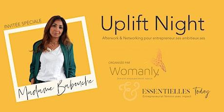 Uplift Night - Entrepreneuriat Féminin avec Impact tickets