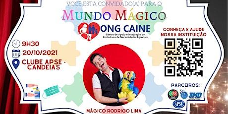 Mundo Mágico ONG CAINE ingressos
