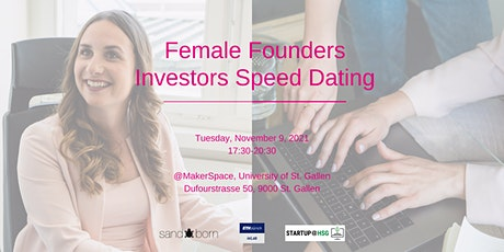 Female Founders Investors Speed Dating tickets