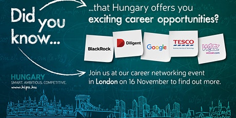 Career Networking Event - Career Path to Budapest tickets