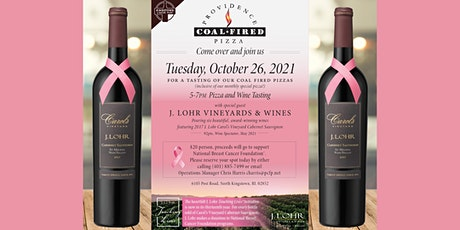 Providence Coal Fired Pizza & J. Lohr Wine Tasting  Event tickets