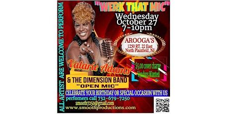Valarie Adams Karaoke_Werk That Mic tickets