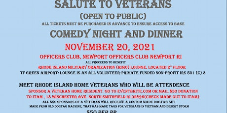 Salute To Veterans_Officer Club Newport Naval Base tickets