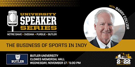 University Speaker Series - Butler University tickets