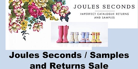 Joules Seconds & Samples Sale Market Deeping tickets