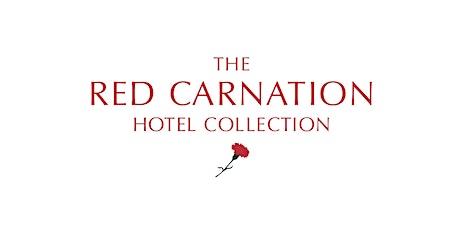 Red Carnation Hotel: Internship and Graduate Management programmes tickets