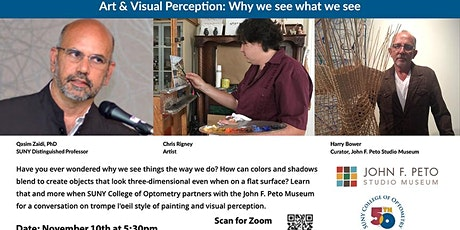 Art & Visual Perception: Why we see what we see? tickets