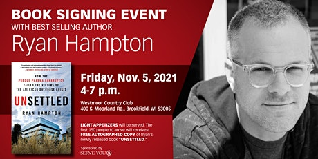 """""""Unsettled"""" Book Signing with Ryan Hampton tickets"""