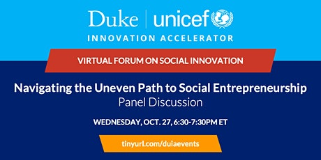 Panel Discussion: Navigating the Uneven Path to Social Entrepreneurship tickets
