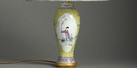 Chinese export porcelain vs European decorative art with Timothy Langston biglietti