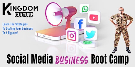 Social Media Business Bootcamp tickets