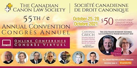 55th Annual Convention / 55e Congrès annuel tickets