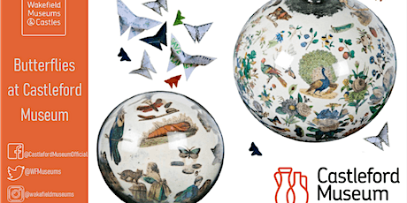 SEND: Butterflies at Castleford Museum - 26th October 2021, 1pm tickets