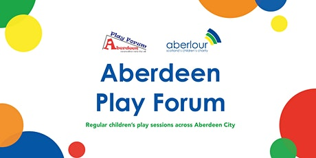 Children's Play Session - Under 5s@ the Boat Club Park in Torry tickets