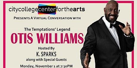 The Temptations' Legend, Otis Williams in Conversation tickets