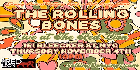 NYC's Jammy Award Winning Rock n Roll Party Band: The Rolling Bones tickets