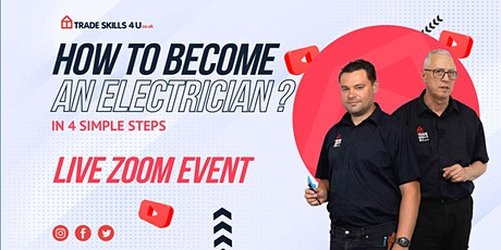 How to Become An Electrician in the UK - Online Webinar tickets