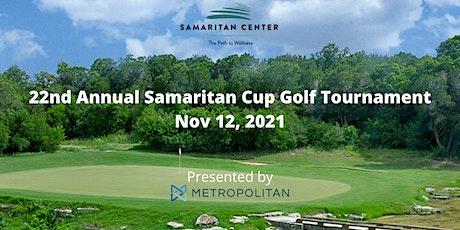 22nd Annual Samaritan Cup Golf Tournament tickets