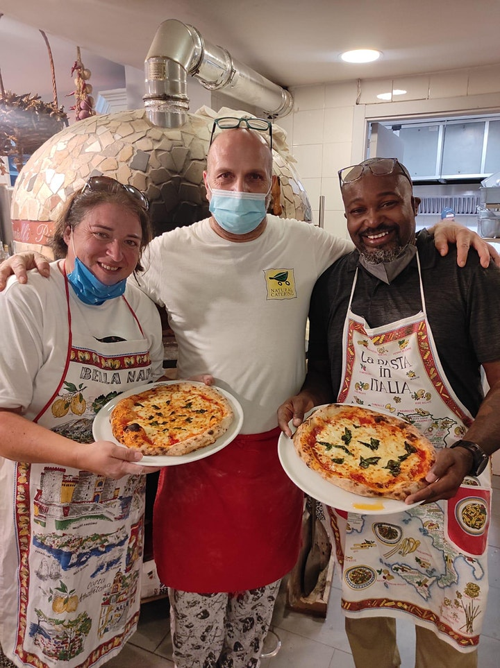 Small Group Naples Pizza Making Experience image