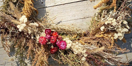 Harvest Wreath Workshop with Dried Florals & Harvest: ADULTS & FAMILY tickets