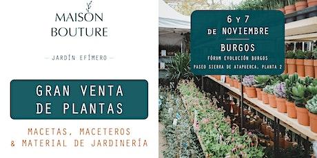 Burgos // El Jardín Efímero de Maison Bouture entradas