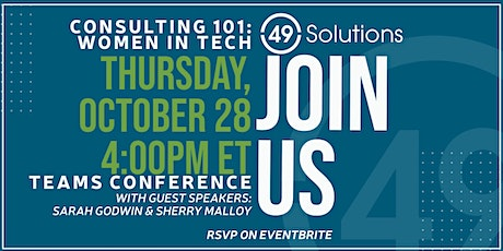Government Consulting 101: Women in Tech tickets