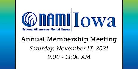 NAMI Iowa's Annual Membership Meeting tickets