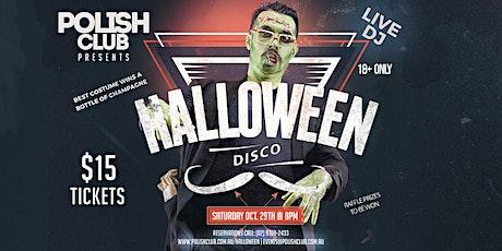 HALLOWEEN Disco | October 29 @ The Polish Club tickets