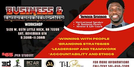 Business Entrepreneurship & Leadership Workshop tickets