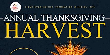 JEFMI -  Annual Thanksgiving Harvest Service tickets