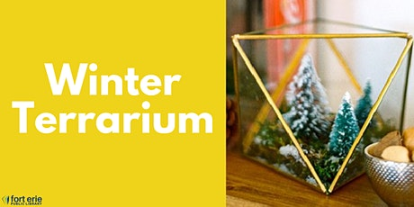 Tween/Teen Craft Kit - Winter Terrarium tickets