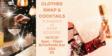 Christmas Clothes Swap & Cocktails tickets