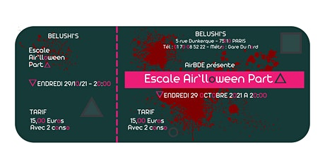 Escale Air'lloween Party tickets