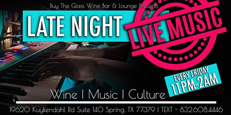 LIVE MUSIC until 2AM | North Houston tickets