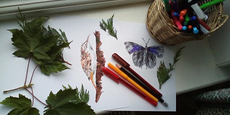Sensory Nature Drawing Workshop on Zoom tickets